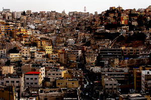 Amman hills