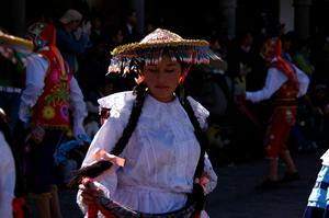 インティライミ 踊る女性