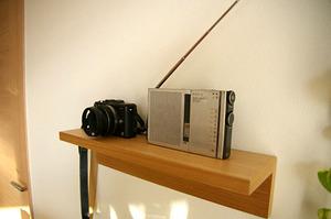 radio and camera