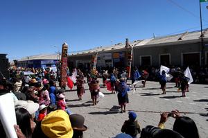 ウユニの祭り
